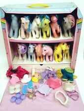Vintage G1 My Little Pony Collectors Case Lot 12 Stable Dream Castle ~ Accessory