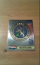 N°420 BADGE LOGO FOIL # NEDERLAND PANINI USA 94 WORLD CUP ORIGINAL 1994