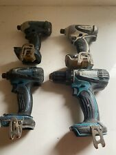 4 Makita Drills