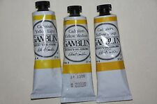 Gamblin Oil Paint-3 CADMIUM YELLOWS-37ml-Series 4