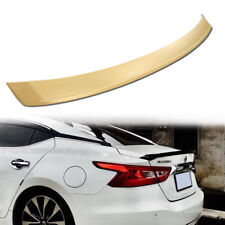 Unpainted ABS For Nissan Maxima A36 OE-Type Rear Trunk Spoiler 2016-2018 Sedan