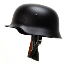 Collection New WW2 German Elite WH Army M35 M1935 Steel Helmet Stahlhelm Black