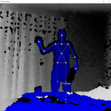 xBox Kinect Sensor Windows Software Stick Man Tracker SLS Ghost Hunting