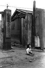 New 5x7 Korean War Photo: South Korean Child in Street After Invasion of Inchon