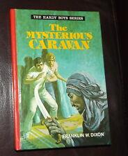 The Hardy Boys Series The Mysterious Caravan Franklin W Dixon 1977 H/B