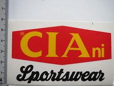 Pegatina Sticker Ciani-Sportswear (6766)