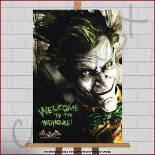 Batman The Joker Canvas Large Framed Box Canvas Print Picture Poster A1 30x20