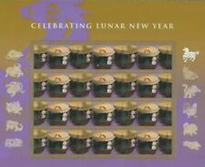 4846 Lunar New Year of the Horse Full Sheet of 12 mnh free shipping