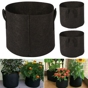 Home Garden Vegetable Planter Container Potato Tomato Plant Grow Bags Flower Pot