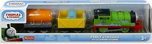 Trackmaster Motorized Thomas & Friends Percy Troublesome Truck & Tanker