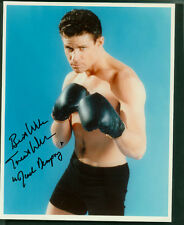 TREAT WILLIAMS SIGNED 8X10 COLOR PHOTO AS BOXER JACK DEMPSEY