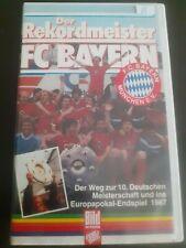 Video 2000 videotape - Der Rekordmeister FC Bayern Munchen 1986/87 - nr. 86.