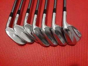 PRGR TR model900  TC PROTOTYPE S3 shaft iron set (4to9,pw) Stiff MRH