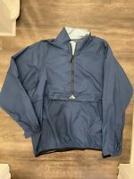 Vintage 90's Nike ACG Blue Ripstop Packable  Windbreaker Mens XXL EUC