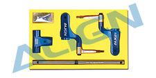 Align Trex 450 PRO SPORT SPORT V2 DFC Main Rotor Head Upgrade Set/Blue H45162QN