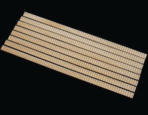 """Basswood Kerfed Lining, Set of 8, 18"""" Length, Guitar Ukulele Kerfing Ribbon"""