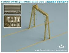 Five Star Model 1/700 #710139 WWII Shipyard Mobile Gantry Crane