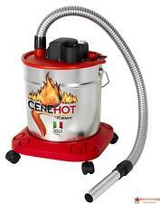 Ribimex Bidone aspiracenere 950W 18 LT aspira cenere per camino stufe a pellet c