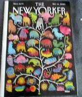 "THE NEW YORKER MAGAZINE  DECEMBER 14 2020  ""TREE OF LIFE"""