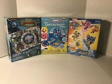 3 Lot Path Games How To Train Your Dragon Baby Shark Mighty Pups