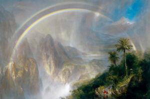 Rainy Season in the Tropics by Frederic Edwin Church 60cm x 40cm Art Paper Print