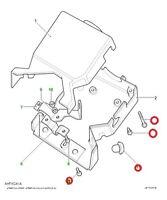 Fitting kit for Defender 90,Defender 110 Upper & Lower Steering Column Shroud