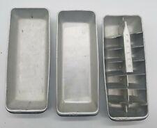 Old Vintage Philco Aluminum Hinged Ice Cube Tray Amazing Vintage Freezer