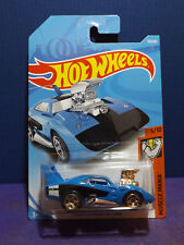 2018 Hot Wheels DODGE CHARGER DAYTONA in BLUE - HW Muscle Mania 5/10 Long Card