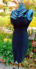 NWT   A PEACH SPANDEX / COTTON / POLYESTER FLIRTY CURVY CLUB DRESS BUST 34