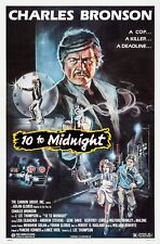 10 TO MIDNIGHT (1983) ORIGINAL MOVIE POSTER  -  ROLLED