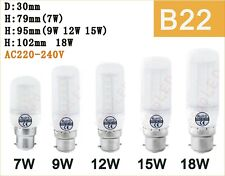 7W~25W E27 B22 E14 G9 GU10  Bright LED Corn Light Bayonet Screw SMD Spot Bulb