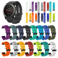 Watch band Quick Release Silicone Wrist Strap For Garmin Fenix 5 5X 5S plus