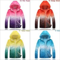Cycling Running Hiking Long Sleeve Windproof Jacket Outdoor Quick Drying Hoodie