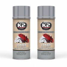 K2 Brake caliper Paint 2x 400ml Brake caliper charol BREMSSATTEL spray de plata