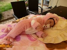 "100% NEW 22"" BEAUTIFUL ONE ONLY SLEEPIN COLLECTORS REBORN/NEWBORN GIRL BABY DOLL"