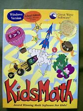 Great Wave Software KIDSMATH School Edition Windows Version Ages 3-8