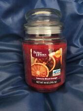 VALENCIA BLOOD ORANGE  18oz LARGE JAR CANDLE(BETTER HOMES NEW