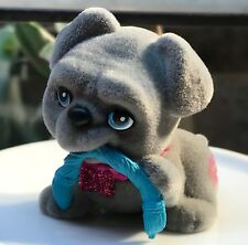 Puppy in My Pocket Barbie Exclusive: Cute Bulldog Puppy with a Rope Toy