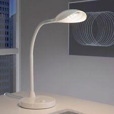 Design LED Schreibtischlampe Tischlampe Kinder Nachttisch Leselampe Weiß T83