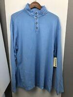 MARGARITAVILLE NWT Ivory-Cream 1//4 Zip Pull-Over Sweatshirt Shirt Mens sz XL $78