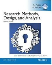 Research Methods, Design, and Analysis 12e by Lisa A. Turner, R. Burke Johnson