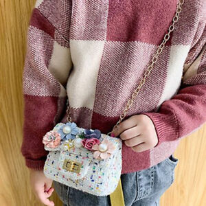 Kids Shoulder Bag Princess Mini Handbag Crossbody Fashion Bag BT