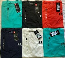 Under Armour Men's short sleeve Heat Gear t-shirt RUNNING TRAINING GYM  M,L,XL