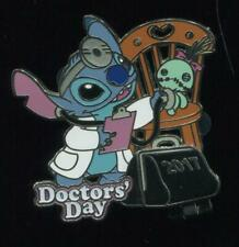Doctor's Day 2017 Stitch Scrump LE Disney Pin 120783