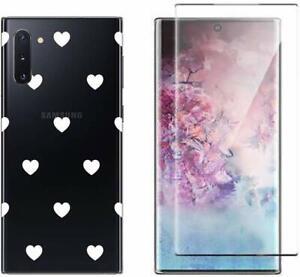Pack Protection écran + Coque fantaisie gel pour Samsung Note 10 / Note 10 Plus