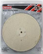 "Josco Metal Polishing Mop Buff - Sisal (Cutting) 200mm 8"" Suit Polisher/Grinder"
