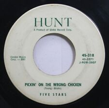 Hear! Rock & Roll 45 Five Stars - Pickin On The Wrong Chicken / Dreaming On Hunt