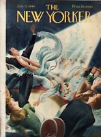 1946 New Yorker January 12 - Acrobatics at the Copacabana - Alajalov