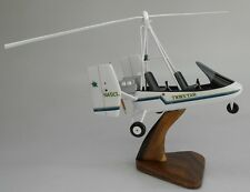 Farrington Twinstarr USA Gyroplane Helicopter Mahogany Wood Model Small New
