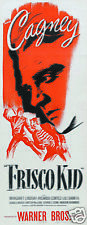 Frisco kid James Cagney vintage movie poster